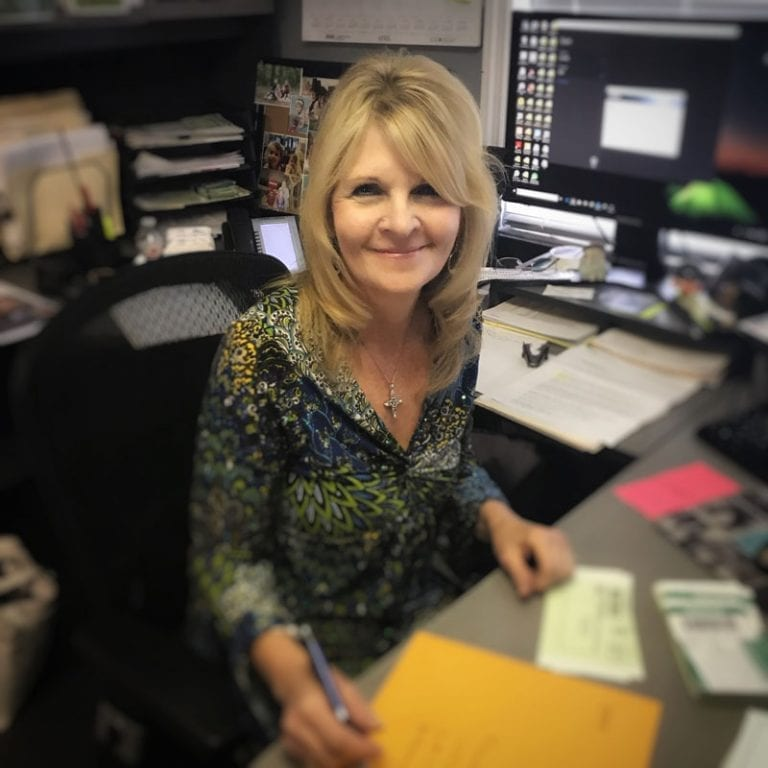 Robin Whitlock is the Office Manager at Benton Roofing in Hendersonville NC