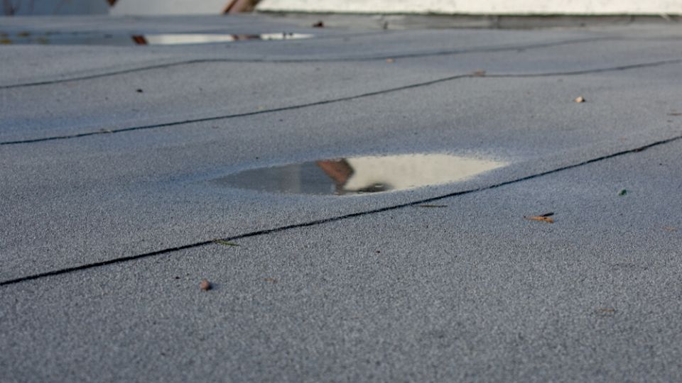 The Top 5 Causes of Flat Roof Leaks
