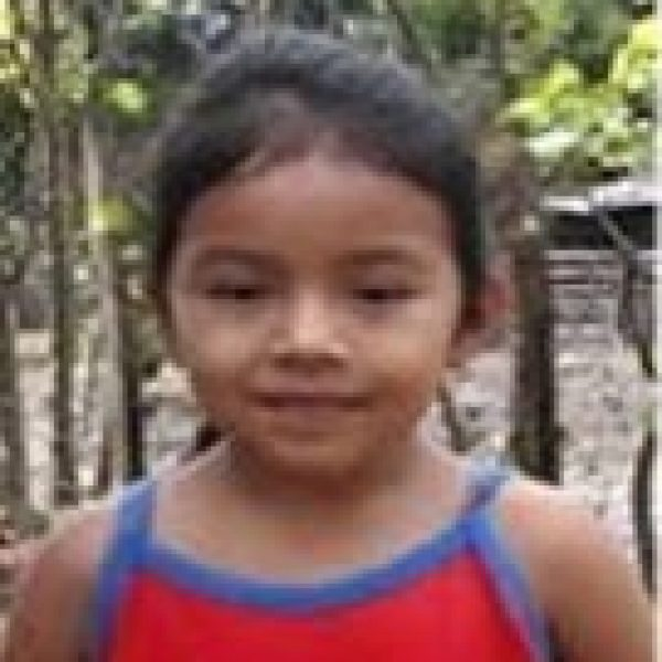Emely is a Compassion child supported by Benton Roofing